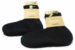 Patagonia Winter Weight Fleece Oversocks.