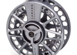 The Waterworks Lamson Litespeed Micra 5 Fly Reel.
