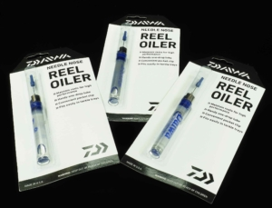 The Daiwa Space Age Needle Nose Reel Oiler.