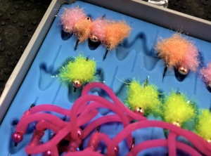 Squirmy Wormy Fly Tying Material.