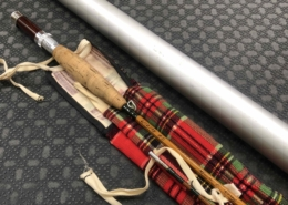 Bamboo Cane Rod Fly Rod - Built by Owner From Genuine Tonkin Cane in 1975 - 2Pc - 6 1/2' - 4Wt - C/W Sock & Aluminum Tube - BEAUTIFUL CONDITION! - $300