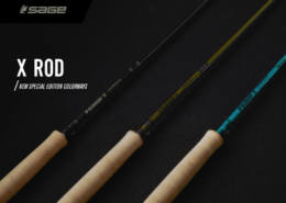 New Special Edition Colour-ways for The Sage X Rod Family.