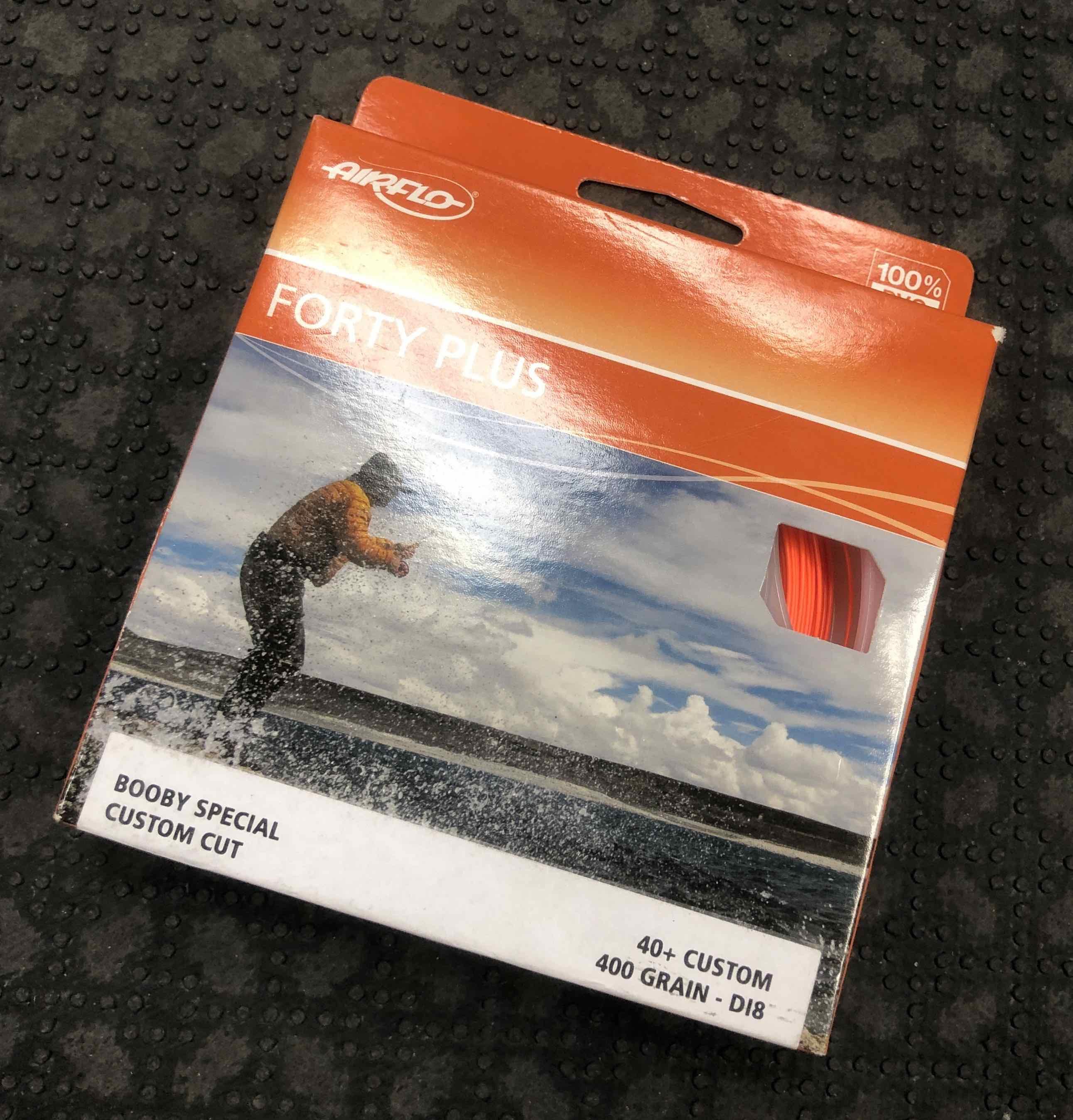 Airflo Booby Special Custom Cut Fly Line 40+ Custom 400 Grain DI8 - BRAND NEW IN BOX! - $50