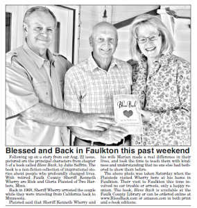Faulk County Record story