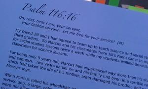 Jan's book close up