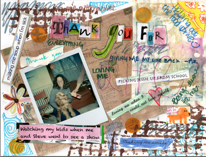 Madeline Farni's thank you note | www.juliesaffrin.com