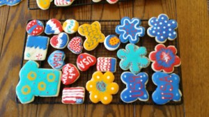 cut-out cookies for the 4th | https://juliesaffrin.com