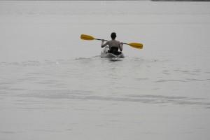 kayaking on Dead Lake | https://juliesaffrin.com