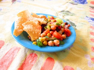Best Bean Salsa Ever | https://juliesaffrin.com