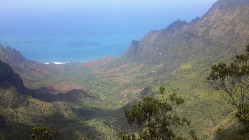Kalalau canyon | http:'//juliesaffrin.com