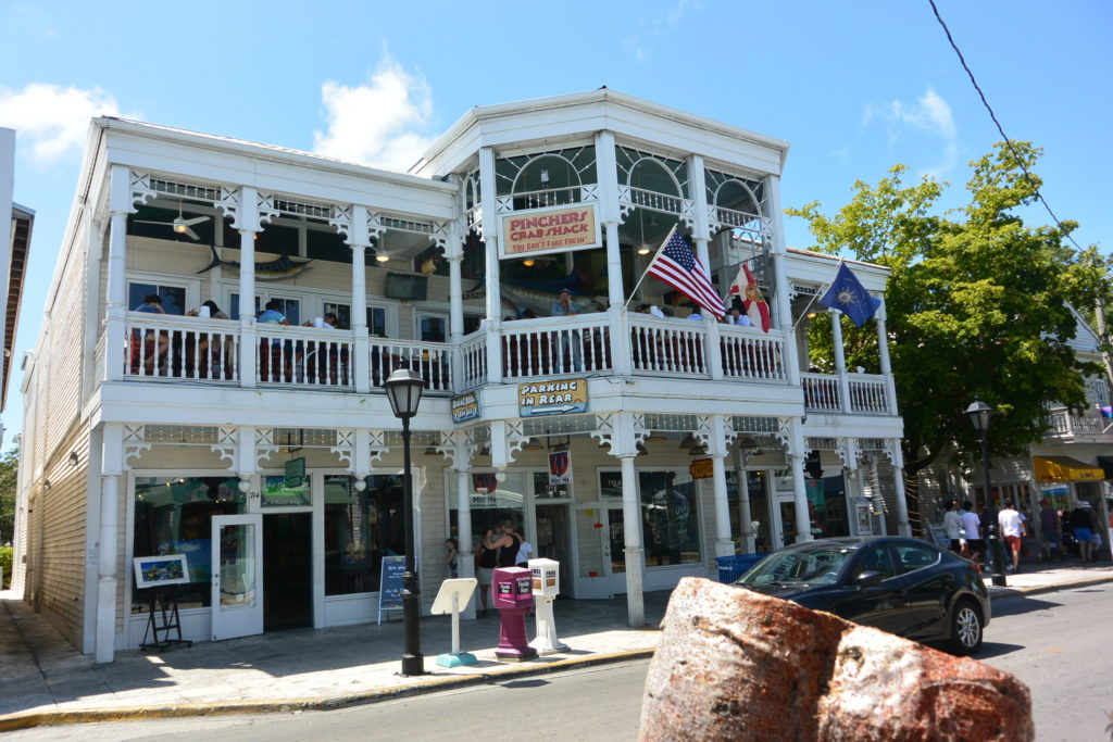Example of Gingerbread Architecture found in Key West, Florida
