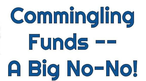 SBOs Shouldn't Commingle Business and Personal Funds