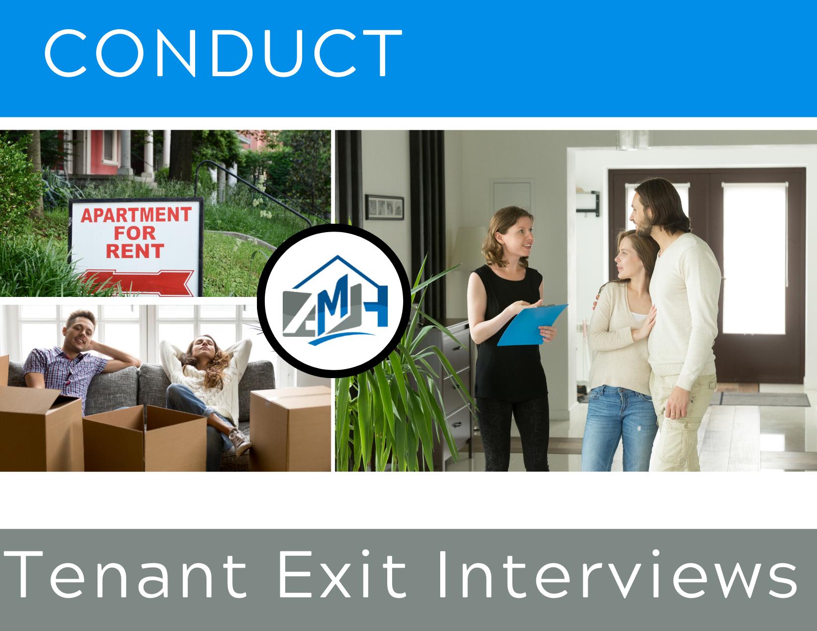 Efficiency: Tenant Exit Interviews