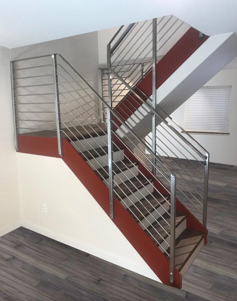 Condo railing