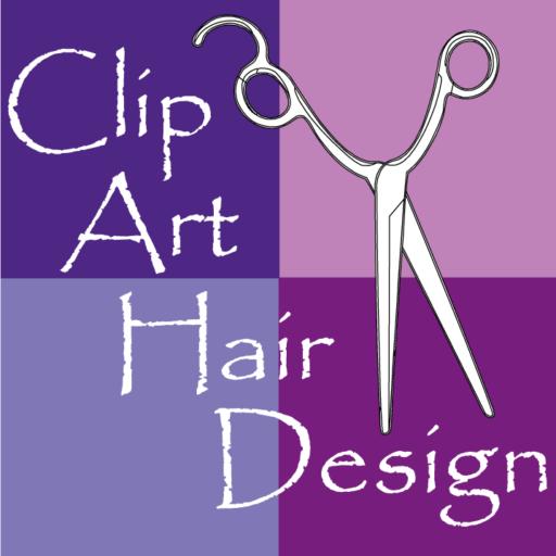 Clip Art Hair Design