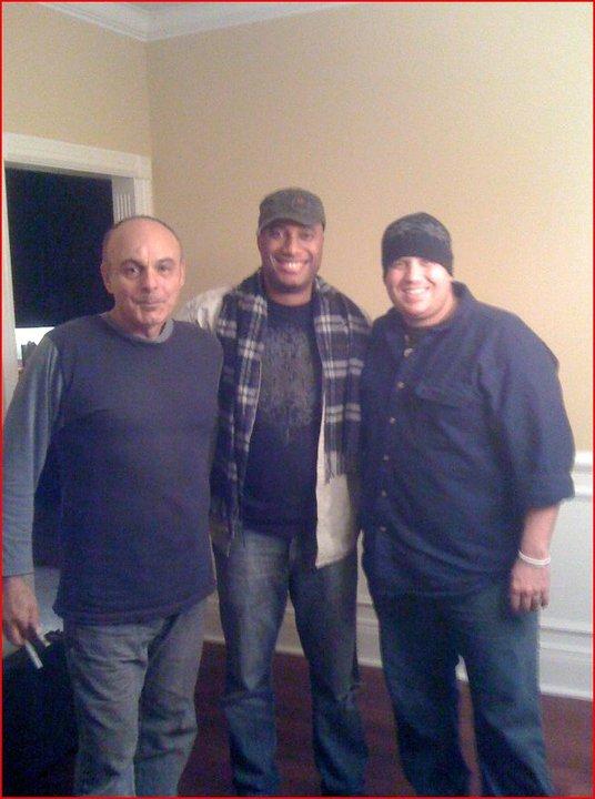 George Cocchini, Michael Ricks, and Rob