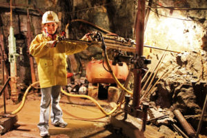 visiting a mine