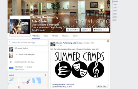 Naples Performing Arts Center on Facebook