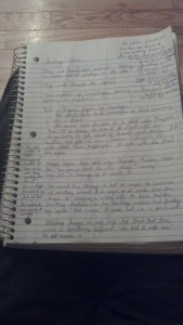 The chaotic notes of a student blogger