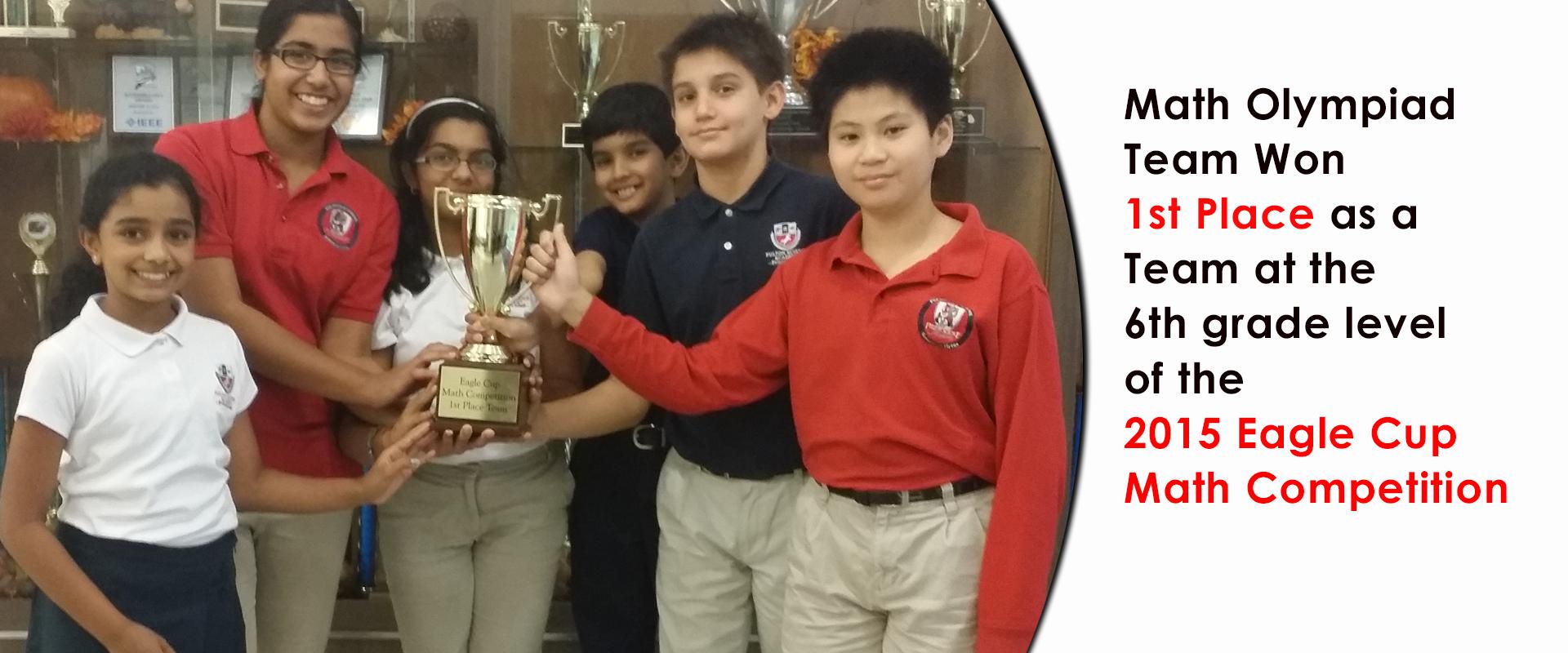 Fulton Science Academy Math eaglecup