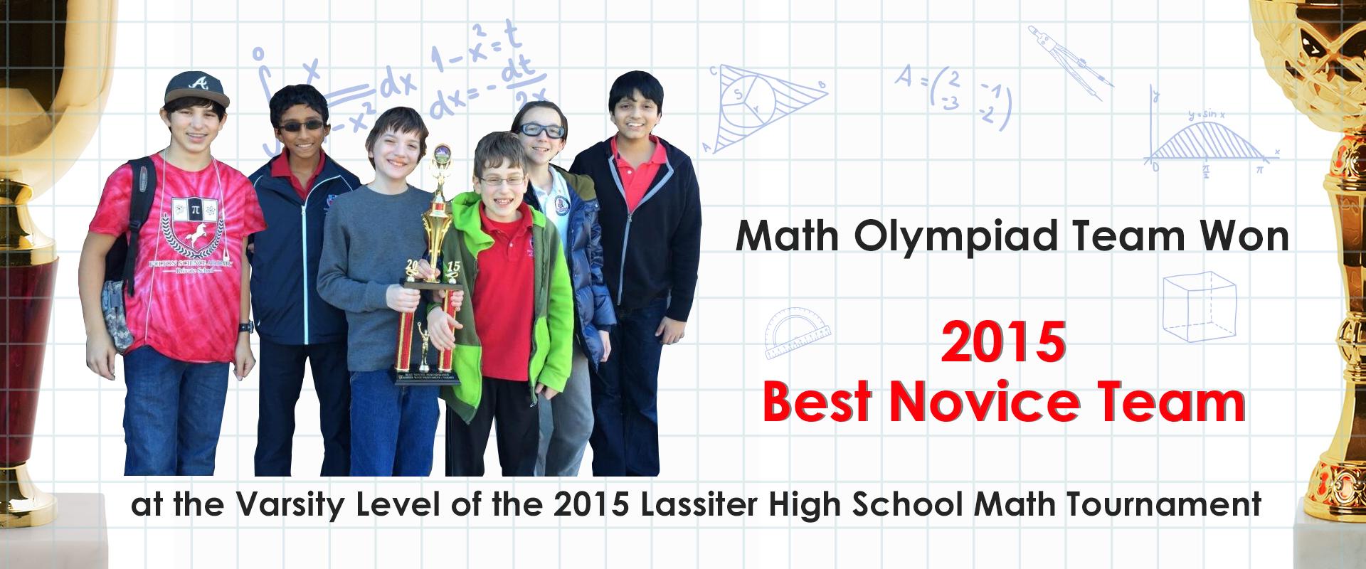 Fulton Science Academy Math lassiter