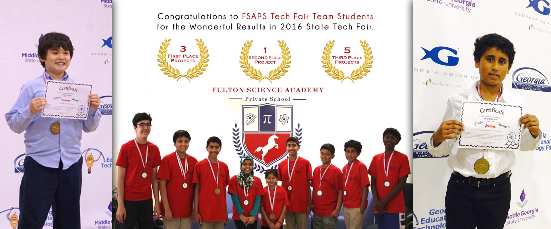 Fulton Science Academy techfair2016