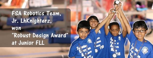 fulton science academy robotics award
