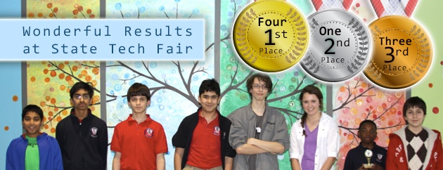 fulton science academy state tech fair champions