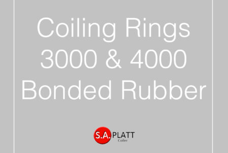 COILING RINGS:3000 & 4000:BONDED RUBBER