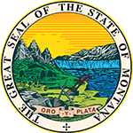 great seal of the state of montana logo