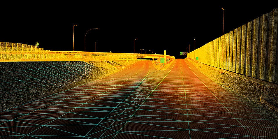 Mobile Mapping and construction development planning