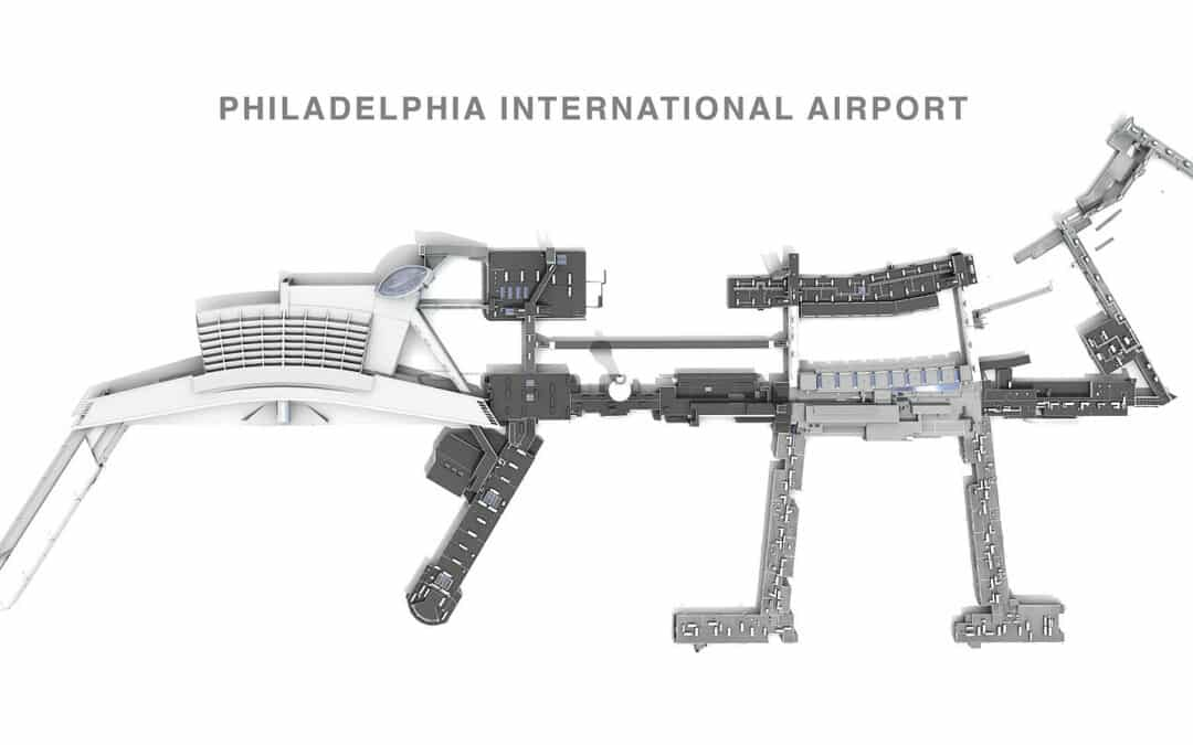Scan-to-BIM: Philadelphia International Airport