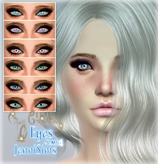 Jennisims: Downloads sims 4: Eyes Special Christmas