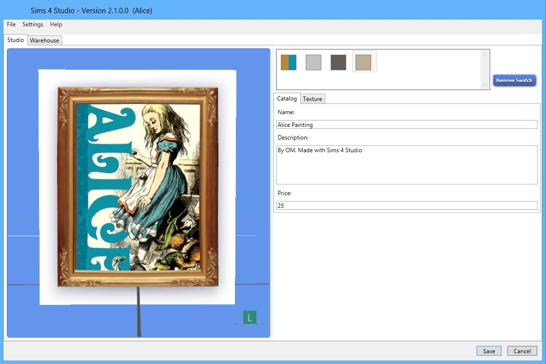 Sims 4 Studio 2.1.0.2 Preview (Alice)   Sims 4 Studio