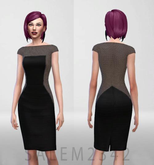 Salem2342 —               TWO BLACK DRESSES FOR...