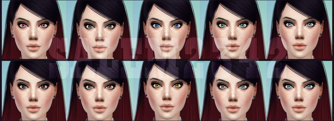Salem2342 — New lenses for TS4 non default pink swatch 10...
