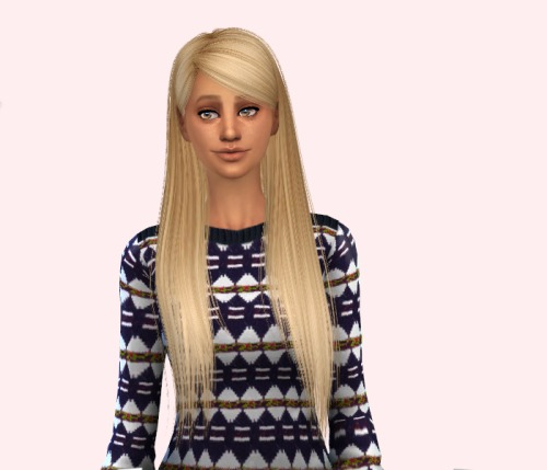 delirium sims, Retexture of Alesso's Alexis hair using Pooklet's...