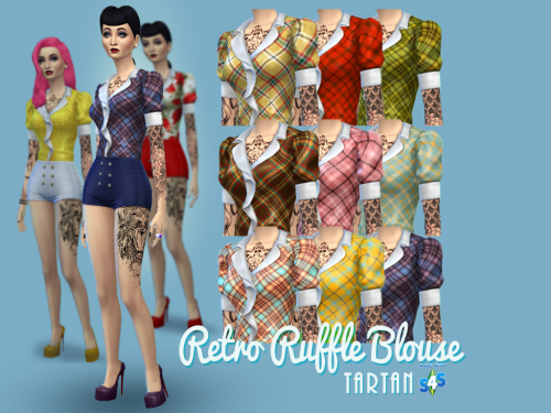 Retro Ruffle Blouses - New and Improved! My...
