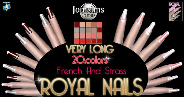 screen royal nails PNG