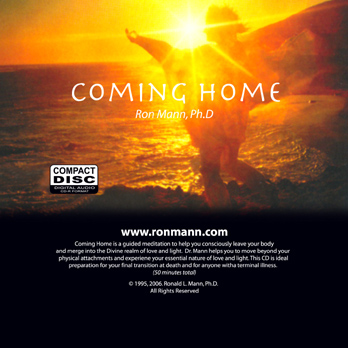 Coming Home CD Cover