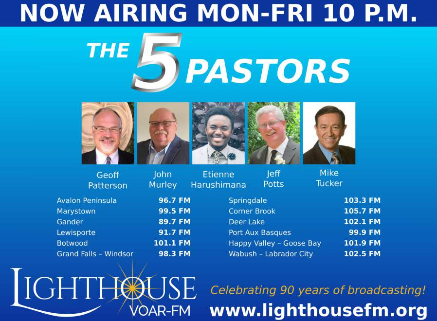 The 5 Pastors - NOW AIRING