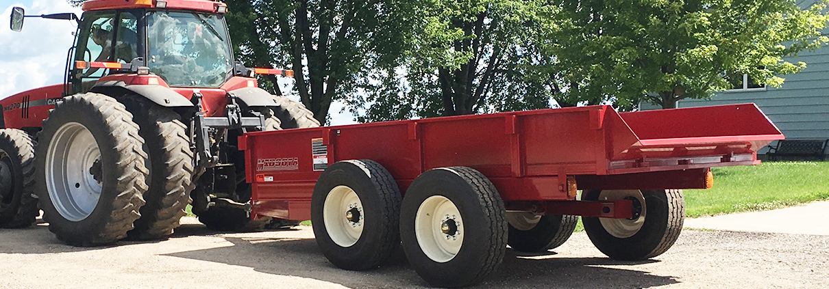 Midsota Heavy Farm Dump F8216, Top 3 Agricultural Trailer from Midsota Manufacturing.