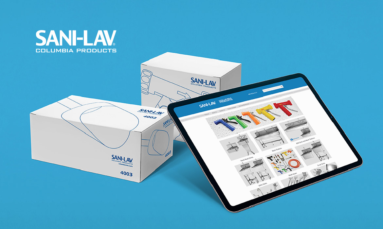 Sani-Lav Columbia Products Web