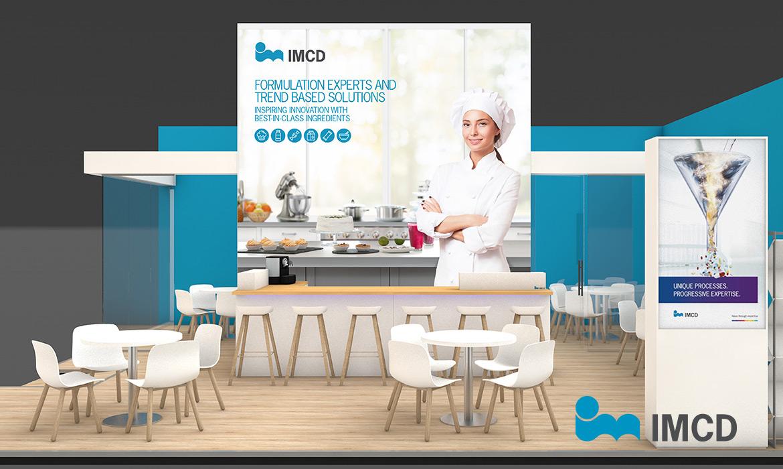 IMCD Tradeshow Booth