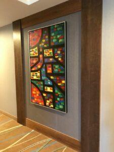 IMG_0267 Hallway with art