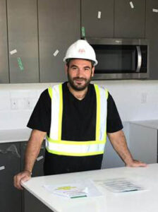 Omer in Kitchen