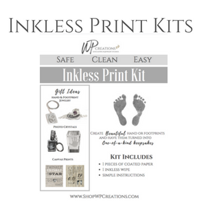 Inkless DIY Hand/Footprint Kits 1