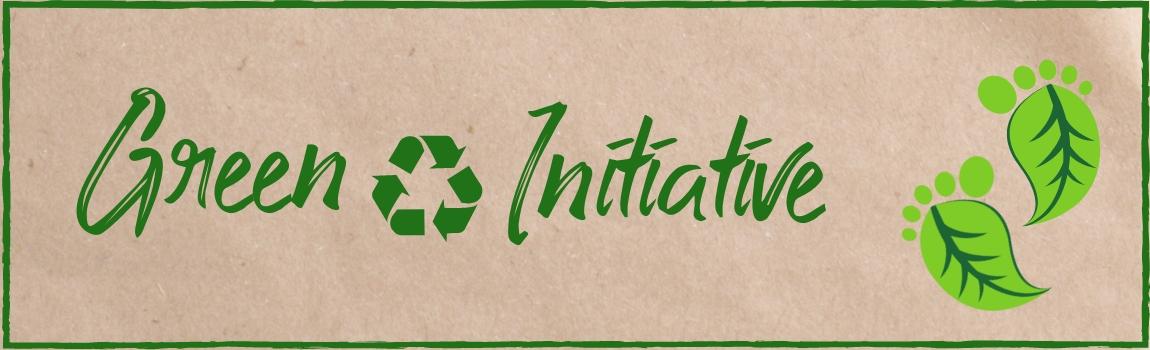 Green Initiative Banner