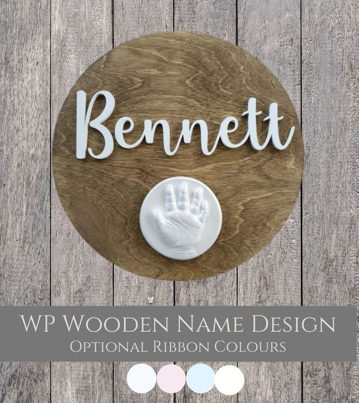 WP Wooden Name Designs Raised Impressions