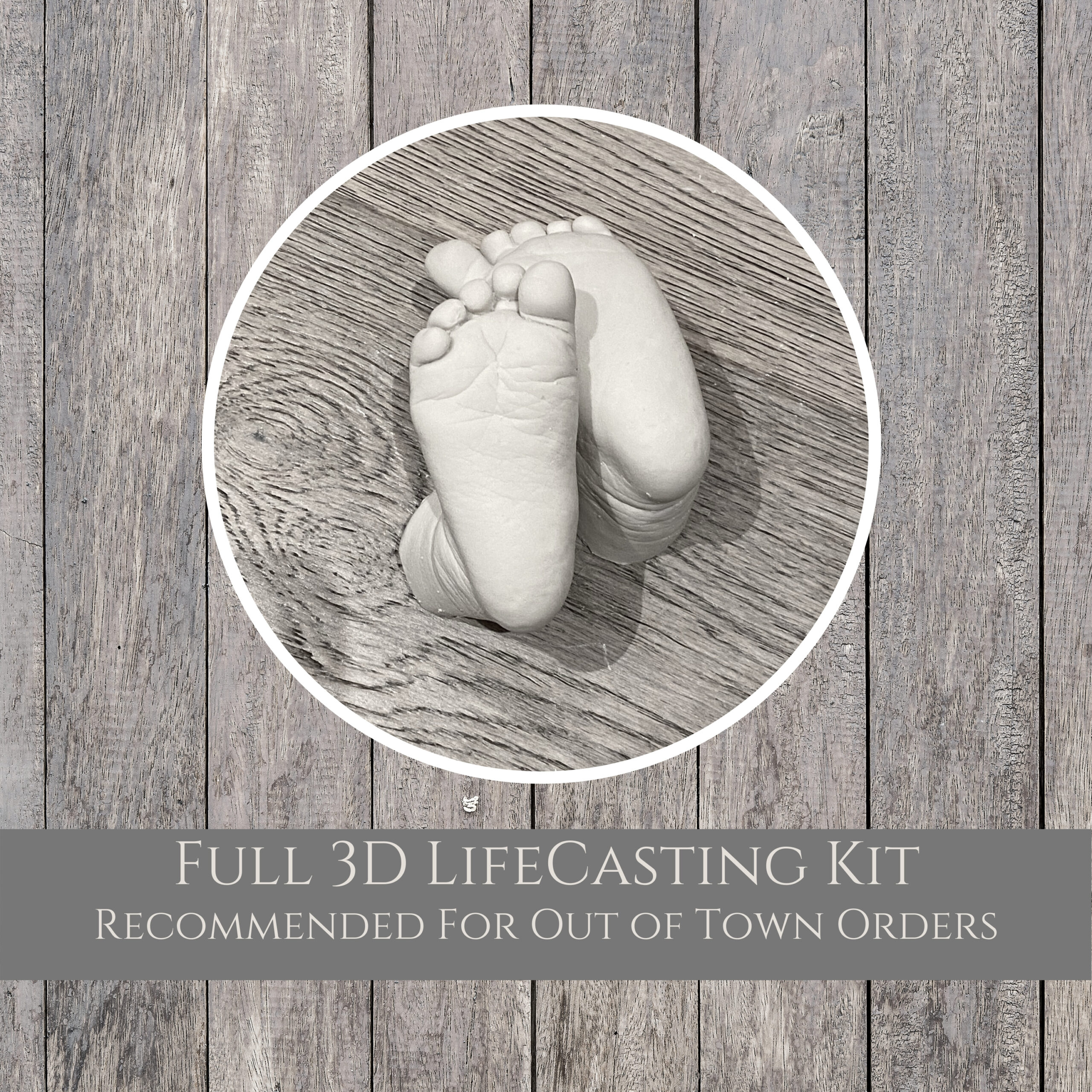 diy full 3d lifecastinng kit